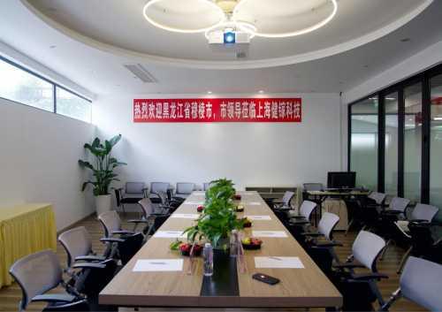 穆棱市市长及市场监督管理局局长一行考察上海健镓科技